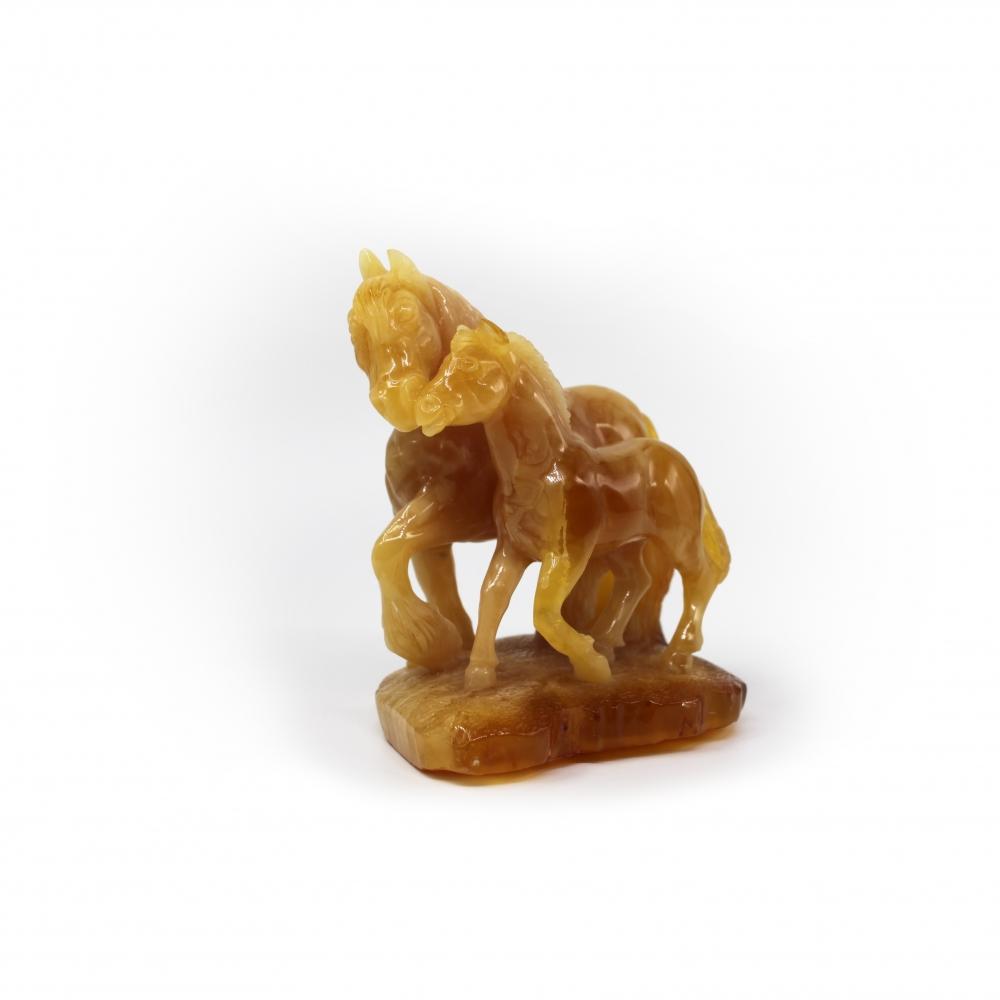 Резьба, Лошадь с жеребенком